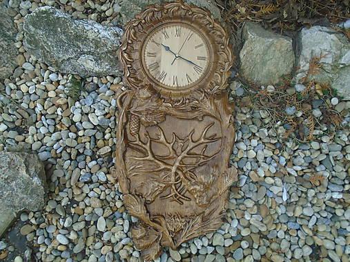 hodiny - Súboj jeleňov