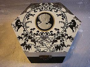 Krabičky - Krabicka na sperky - 10424607_