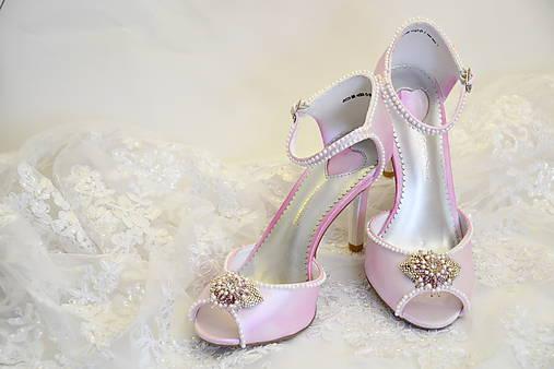 Sandálky pre nevestu