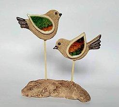 Dekorácie - Keramická dekorácia - DVAJA - 10422263_