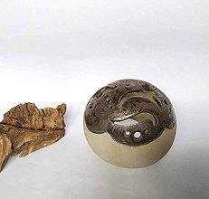 Dekorácie - Dekoratívna guľa / tienidlo na sviečku - 10422300_
