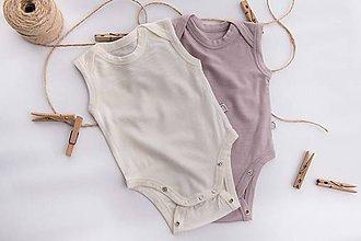Detské oblečenie - Rastúce merino body - tielko - 10425045_
