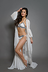 Šaty - Šaty v Boho štýle so spodničkou - 10425102_