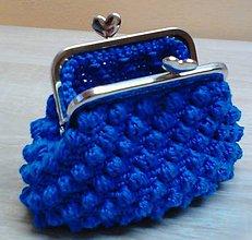 Peňaženky - Háčkovaná peňaženka - 10426133_