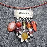 - Leto - náhrdelník - 10423982_