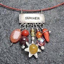 Náhrdelníky - Leto - náhrdelník - 10423982_