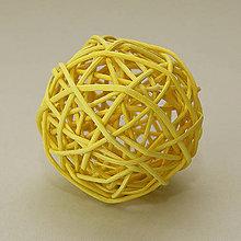 Iný materiál - Dekoračné gule z pedingu - 10422606_