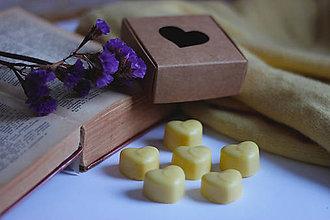 Svietidlá a sviečky - Zaláskané balenie včelých voskov do aromalampy - 10424705_