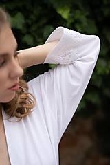 Pyžamy a župany - Župan z organickej bavlny (XL Natural) - 10425881_
