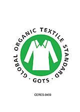 Pyžamy a župany - Dámske pyžamo dlhé z organickej bavlny s krajkou (S Natural) - 10426017_