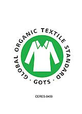 Pyžamy a župany - Dámska nočná košeľa s krajkou z organickej bavlny (XL biela) - 10426062_