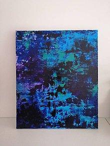 Obrazy - Modrá hladina - 10423159_