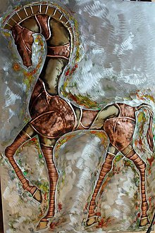 Obrazy - I. Grécky kôň - 10424261_