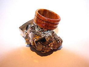 Prstene - Drevený prsteň 2 - 10423927_