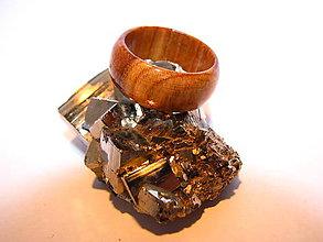 Prstene - Drevený prsteň 5 - 10423968_