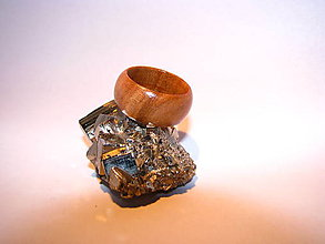 Prstene - Drevený prsteň 12 - 10424014_