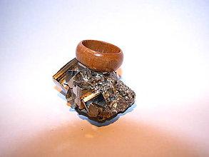 Prstene - Drevený prsteň 14 - 10424027_