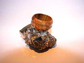 Prstene - Drevený prsteň 16 - 10424034_
