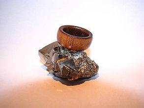 Prstene - Drevený prsteň 20 - 10424048_