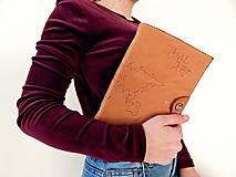 Papiernictvo - Travel Diary kožený cestovateľský zápisník - 10423632_