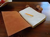 Papiernictvo - Travel Diary kožený cestovateľský zápisník - 10423639_