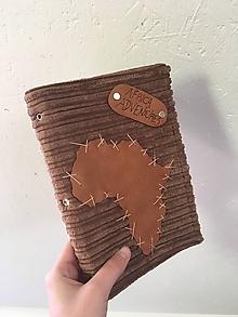 Papiernictvo - Africa Adventures látkový cestovateľský denník - 10425490_