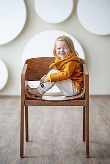 Detské oblečenie - TEPLÁKY BASIC (74 - Krémová) - 10422718_
