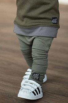 Detské oblečenie - TEPLÁKY CLASSIC (80 - Krémová) - 10422797_