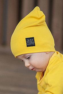 Detské čiapky - ČIAPKA DOUBLE - 10422950_