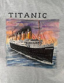 Detské oblečenie - tričko Titanic... verzia č. 1 :-) - 10422294_