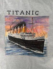 Detské oblečenie - tričko Titanic... :-) - 10422294_