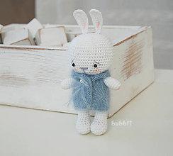 Dekorácie - Zajačik Deniska / 15 cm - 10422845_