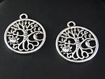 Komponenty - Prívesok  strom života - slnko&mesiac - 10425602_
