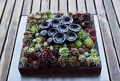 Socha - kvetináč ako obraz - 10423148_