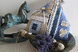Dekorácie - levanduľový domček - 10422878_