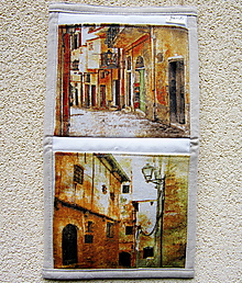 Úžitkový textil - Provence - kapsárik - 10423924_