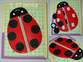 Hračky - lienka - 10424276_