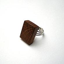 Prstene - Dubový kvádrik - 10424983_