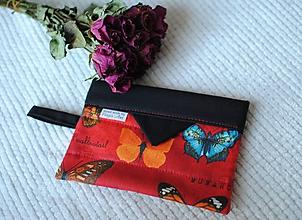 Taštičky - Motýliková taštička - 10422973_