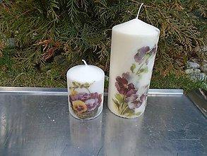 Svietidlá a sviečky - sirôtky - 10423938_