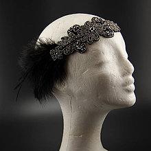 Ozdoby do vlasov - Great Gatsby Ornament ... čelenka - 10428242_