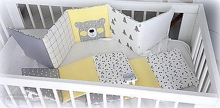 Textil - Mantinel Nordic Žltý 240x25cm - 10427278_