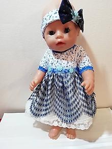 Hračky - Šaty pre bábiku Baby born v 43 cm - 10428482_