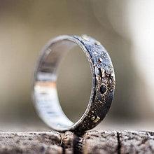 Prstene - Nekonečný vesmír hviezd /solitér s onyxami/ - 10427078_