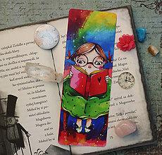 Papiernictvo - Čítajka/ záložka do knihy - 10429206_