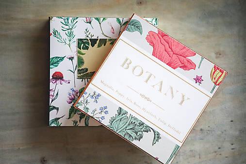 Sada dvoch zápisníkov Botanika
