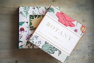 Papiernictvo - Sada dvoch zápisníkov Botanika - 10428998_