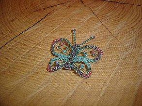 Magnetky - Motýlik - 10429491_