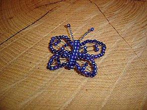 Magnetky - Motýlik - 10429503_