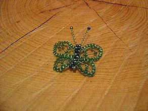 Magnetky - Motýlik - 10429975_